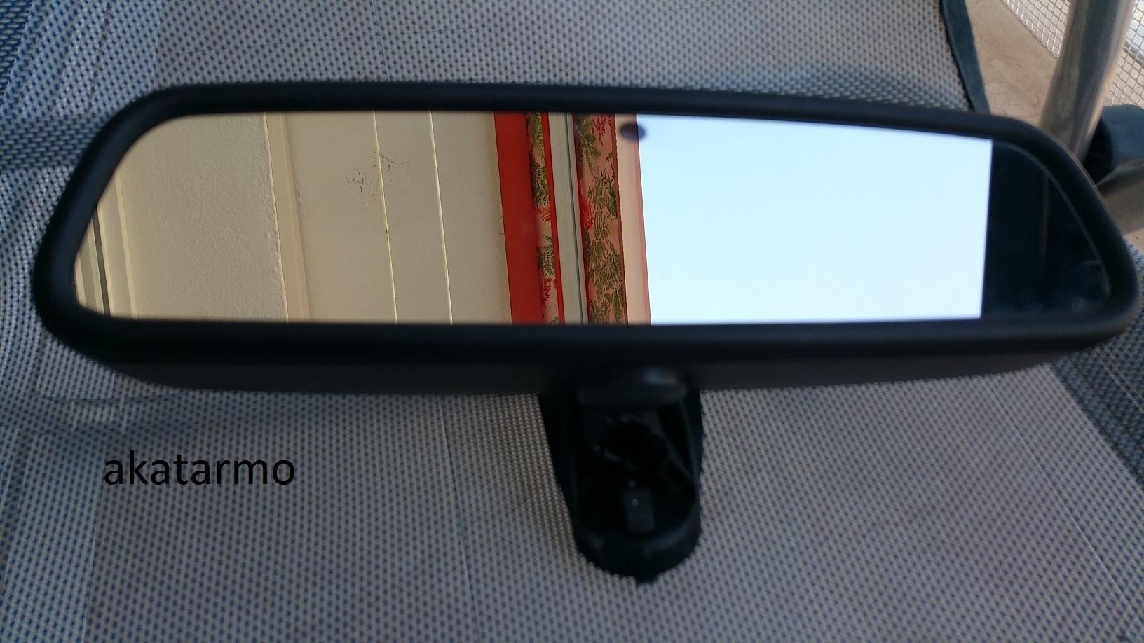 Vendo espejo retrovisor interior fotocrom tico con for Espejo retrovisor interior